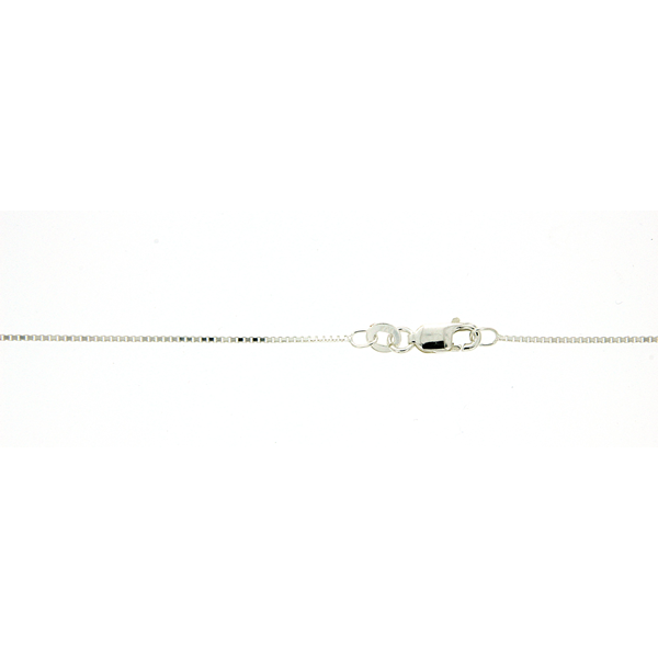 Sterling Silver 40cm box chain