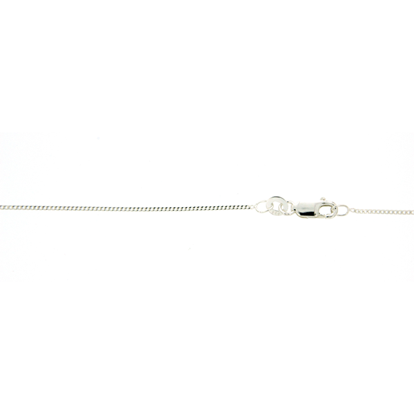 Sterling Silver 40cm Curb Chain