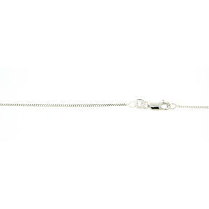 Sterling Silver 45cm Curb Chain