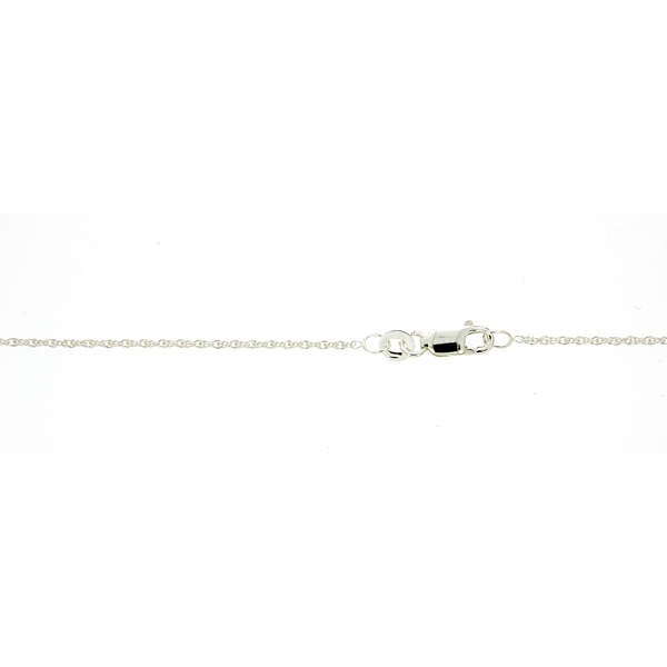 Sterling Silver Double Cable 45cm Chain
