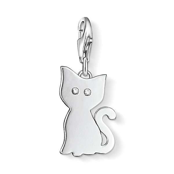 THOMAS SABO Charm Club CZ Kitty