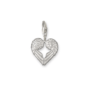 THOMAS SABO Charm Club Wings Heart Shaped