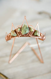 The Ever After (Rose Gold + Chrysoprase)