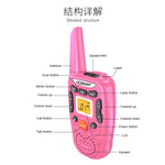 CRONY T-358 Walkie Talkies for Kids Toy walkie talkie for Girls or Boys (Pink,2 PCS)
