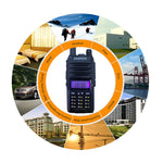 Baofeng UV-9R plus Walkie Talkie Tri Band High Power Upgrade 10w for Two Way Radio Long Range 10km