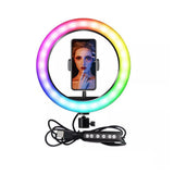 MJ33(13inch)  wire-controlled mobile phone RGB LED Live Fill Light