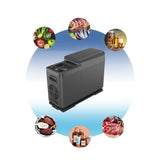 CF8 8L Vehicle Refrigerator with APP Car Refrigerator Freezer Small Fridge for Family Camping Cooler and Warmer