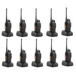 10 Pcs Walkie Talkies BF-888S Baofeng Handheld Two Way Radios Battery and Charger - Edragonmall.com