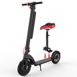CRONY X8  Classic Black Folding 10-Inch Scooter with two batteries