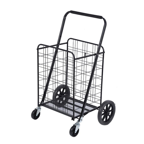 CRONY 204 High quality Big shoping trolley Household portable Foldable Shopping Trolley on Wheels