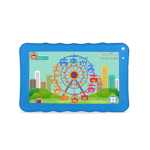 CRONY K19 9-inch 8GB ROM 512MB RAM Android WIFI Kids Tablet | Blue