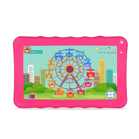 CRONY K19 9-inch 8GB ROM 512MB RAM Android WIFI Kids Tablet | Pink