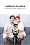 360°Cradle head selfie stand Auto Face&Object Tracking Smart Shooting Camera Phone Mount (Black)