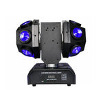 12pcs X 10W LED Super Beam Mini Moving Head light Double Ball Football Light RGBW Color For KTV bar, art bar,Di bar, stage-2 - Edragonmall.com