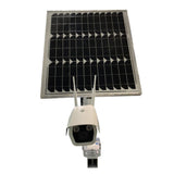 Support 3G, 4G network, solar powered outdoor monitoring system