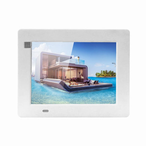 Crony 7 Inch HD Digital Photo Frame, 10GB Storage, Supports Remote Control Player Stereo MP3 Time-2