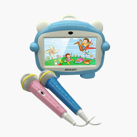 jettom baby learn machine with two microphone and SIM card | Blue