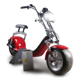 X7 Harley Style 2 Wheel 1000W Fat Tyre Electric Single Seater Electric motorcycle-GQ
