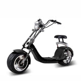 X7 Harley Style 2 Wheel 1000W Fat Tyre Electric Single Seater Electric motorcycle-Black