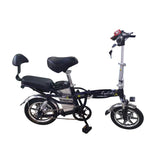 E-bike 14 Inch K2 48V 10A Aluminum Suspension Electric Bicycle for Women, Folding electric bike-2