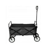 Tc3015 Folding Cart Folding Garden Trolley | BLACK