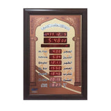 CRONY AZ5035-6 clock Islamic Azan Wall Clock Mosque Prayer Clock Ramadan