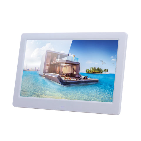 CRONY 10inch Smart digital picture photo frame function signage advertising player | White