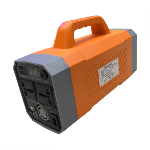Crony  Multi-function K300 Portable Power Station 11.1V 37Ah 500Wh  With Jump Starter  Battery | Orange