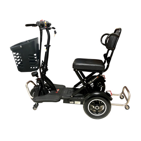 CRONY V3 Electric folding mobility scooter Maximum load 150kg  Max Speed 20KM/H Folding Lightweight Portable Powerchair for Elderly and Medical | BLACK