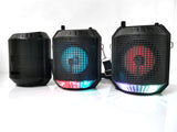 CRONY RX-4101 colorful light portable speaker with microphone USB TF FM RADIO Speaker