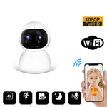 CRONY NIP-28 carecam PRO APP dual camera zoom, high-definition night vision smart home surveillance camera wifi mobile phone remote control