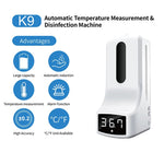 CRONY K9 Display Automatic Hand Small Sanitizer Dispenser with Temperature Sensor Recongnition