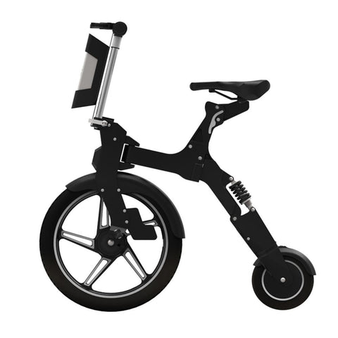 ebike 36V 250W MINI Q Folding Electric Bike Bicycle 18'' 8'' Wheel scooter - edragonmall.com