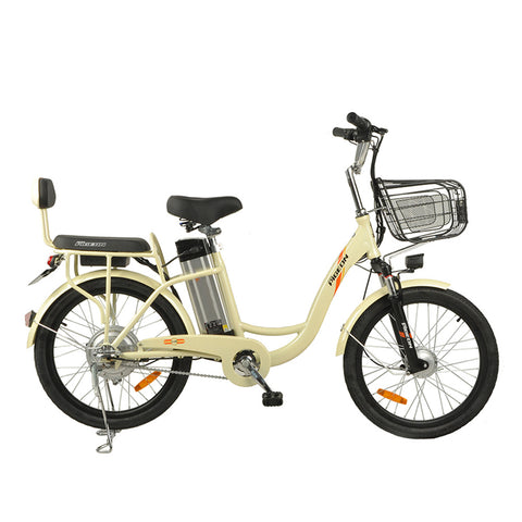 FLYING PIGEON fashion design 22inch The fire spirit bird Electric bicycle | Yellow