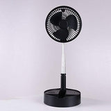 Telescopic speaker fan with Wireless Speaker and Aroma Fragrance Diffuser Portable | Black
