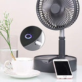 Telescopic speaker fan with Wireless Speaker and Aroma Fragrance Diffuser Portable | White