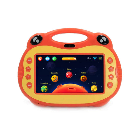 P06 7inch kids tablet with sim, Karoke Video Learning, Android - Red