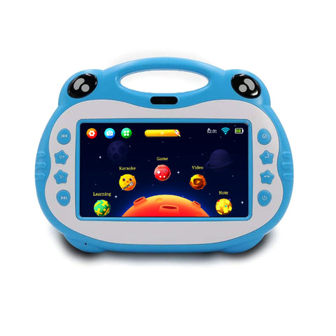 P06 7inch kids tablet with sim, Karoke Video Learning, Android - Blue