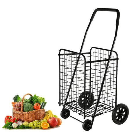 CRONY SC-106 Household portable Foldable Shopping Trolley on Wheels