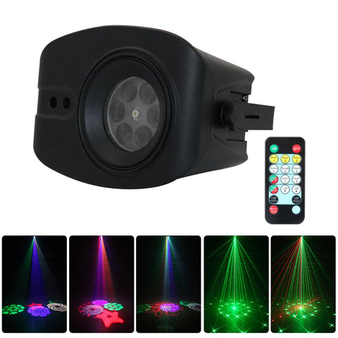 WL-901 Big Pattern Laser light RGB 13W Led Laser Projector Light Club Dj Disco Stage Light