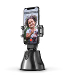 360 Cradle head selfie stand Auto Face&Object Tracking Smart Shooting Camera Phone Mount -Black