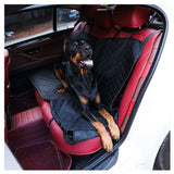 EAFC Pet Car Seat Mat Oxford Backseat Covers Mat Waterproof Back Bench Seat Car Interior Travel Accessories