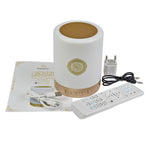 EQUANTU SQ-112 Portable Quran Speaker, LED Bluetooth Speaker Quran Koran Reciter Speaker