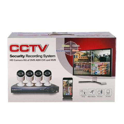 Crony CCTV 4004d Security Recording System Hd Camera Of Dvr Adh Cvi And Nvr - edragonmall.com