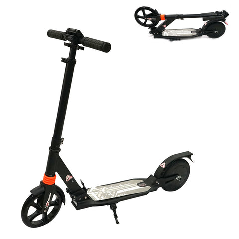 CRONY C2  200W 4AH Children Aluminium Folding Scooter, Max Speed 15KM/H, Distance 6-10KM, Easy Foldable , Shock Absorption Front & Rear