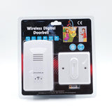 Wireless Digital Doorbell Loudly Doorbell Safety Doorbell Easy to Install -ZDL-2586