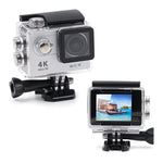 Crony ultra HD 4K 12MP Waterproof wifi action camera H9,SILVER - edragonmall.com