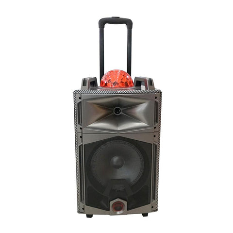 CRONY Speaker with bluetooth/FM/USB/SD and colored lights DT-1103 - edragonmall.com