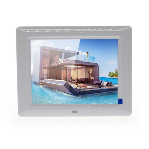 Crony 7 Inch HD Digital Photo Frame, 10GB Storage, Supports Remote Control Player Stereo MP3 Time - edragonmall.com