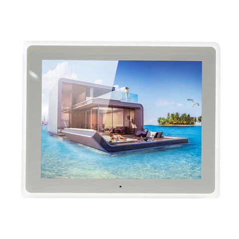 Crony Best Video Photo Frame, 12 Inch, HD Digital Picture Frame Supports Music, Video & Film -White